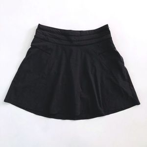 Athleta All Day Black Skort Skirt Size 10